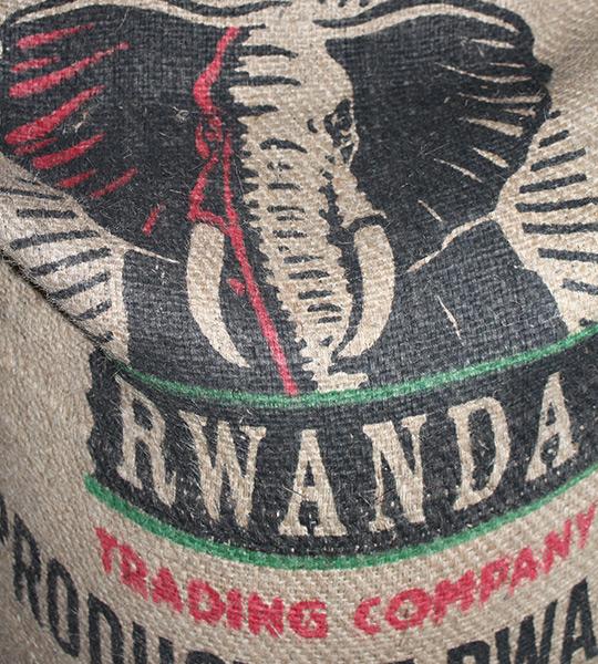 Kaffeesack aus Columbien